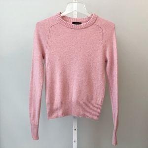 J Crew Size XXS Holly Pink Sweater
